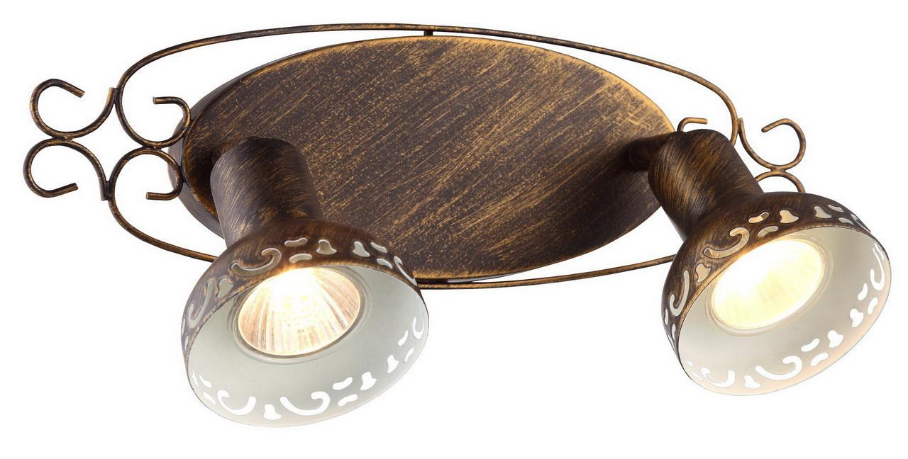Спот Arte Lamp Focus A5219AP-2BR спот arte lamp focus brown a5219ap 2br