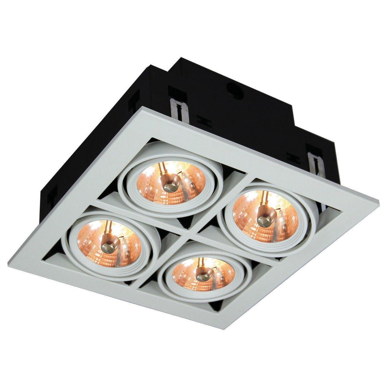 Встраиваемый светильник Arte Lamp Cardani A5930PL-4WH накладной светильник arte lamp venice a2101pl 4wh page 6