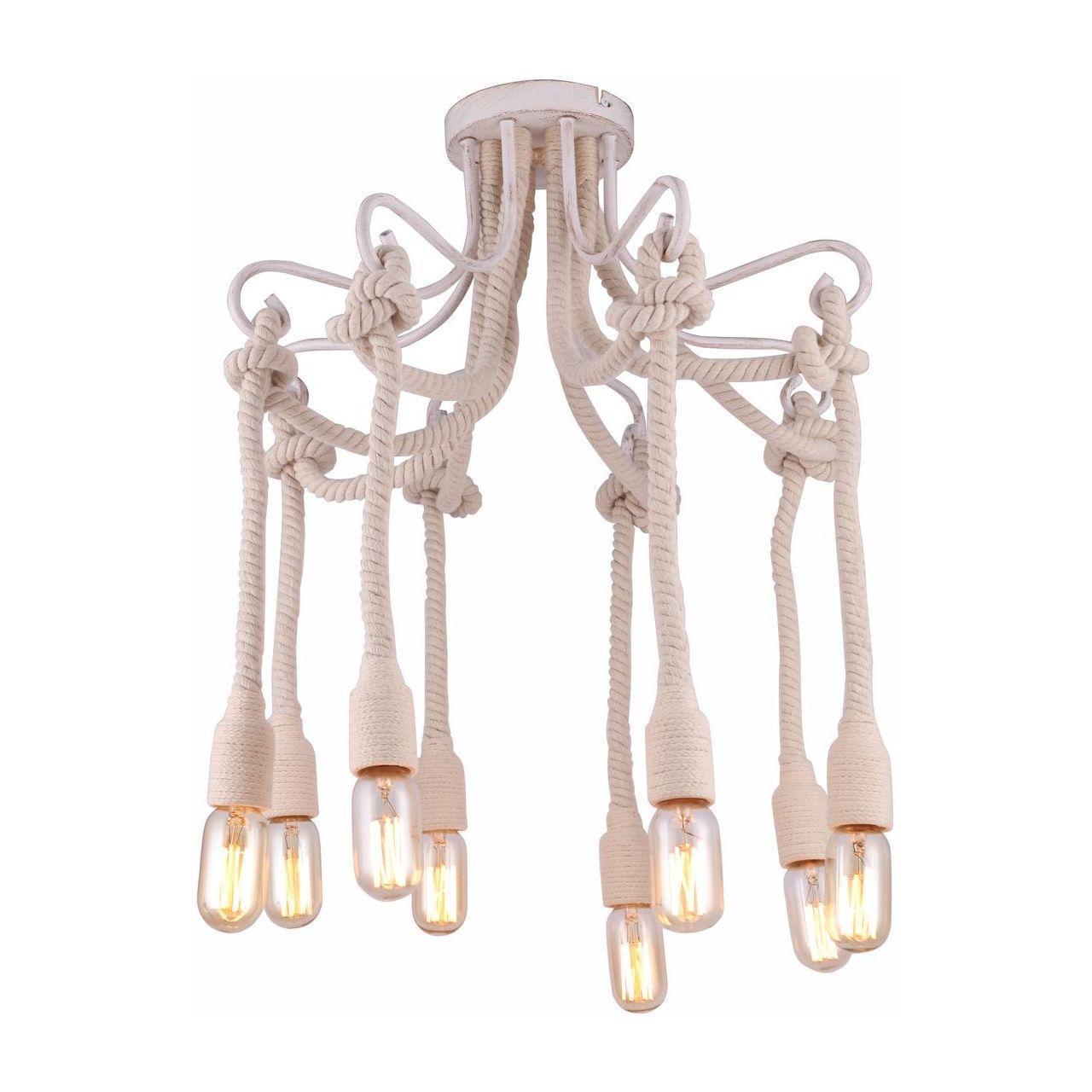 Люстра Arte Lamp A9477PL-8WG потолочная artelamp borgia a8100lm 8wg