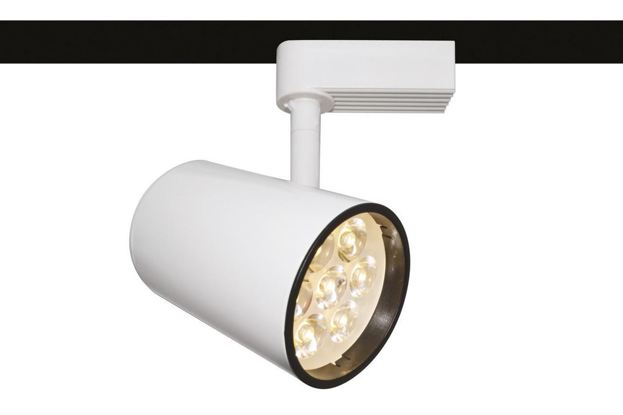 Трековый светильник Arte Lamp Track Lights A6107PL-1WH arte lamp спот track lights a6107pl 1wh
