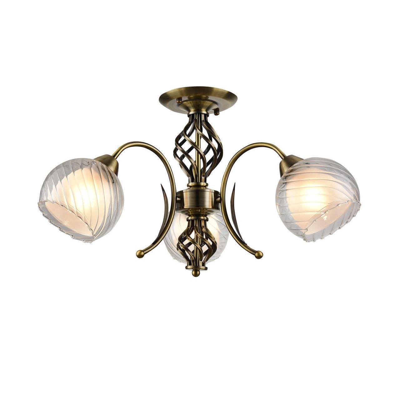 Люстра Arte Lamp Dolcemente A1607PL-3AB потолочная цена