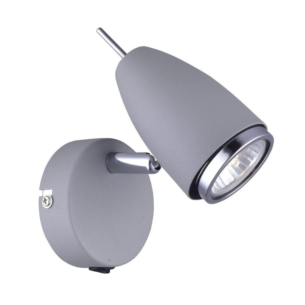 Спот Arte Lamp Regista A1966AP-1GY спот arte lamp a1966ap 1gy