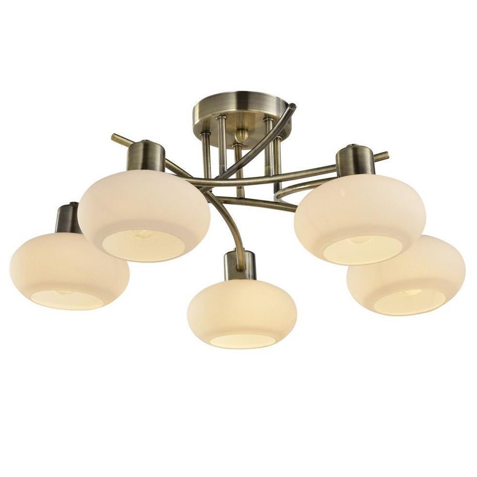 все цены на Люстра Arte Lamp 97 A7556PL-5AB потолочная онлайн