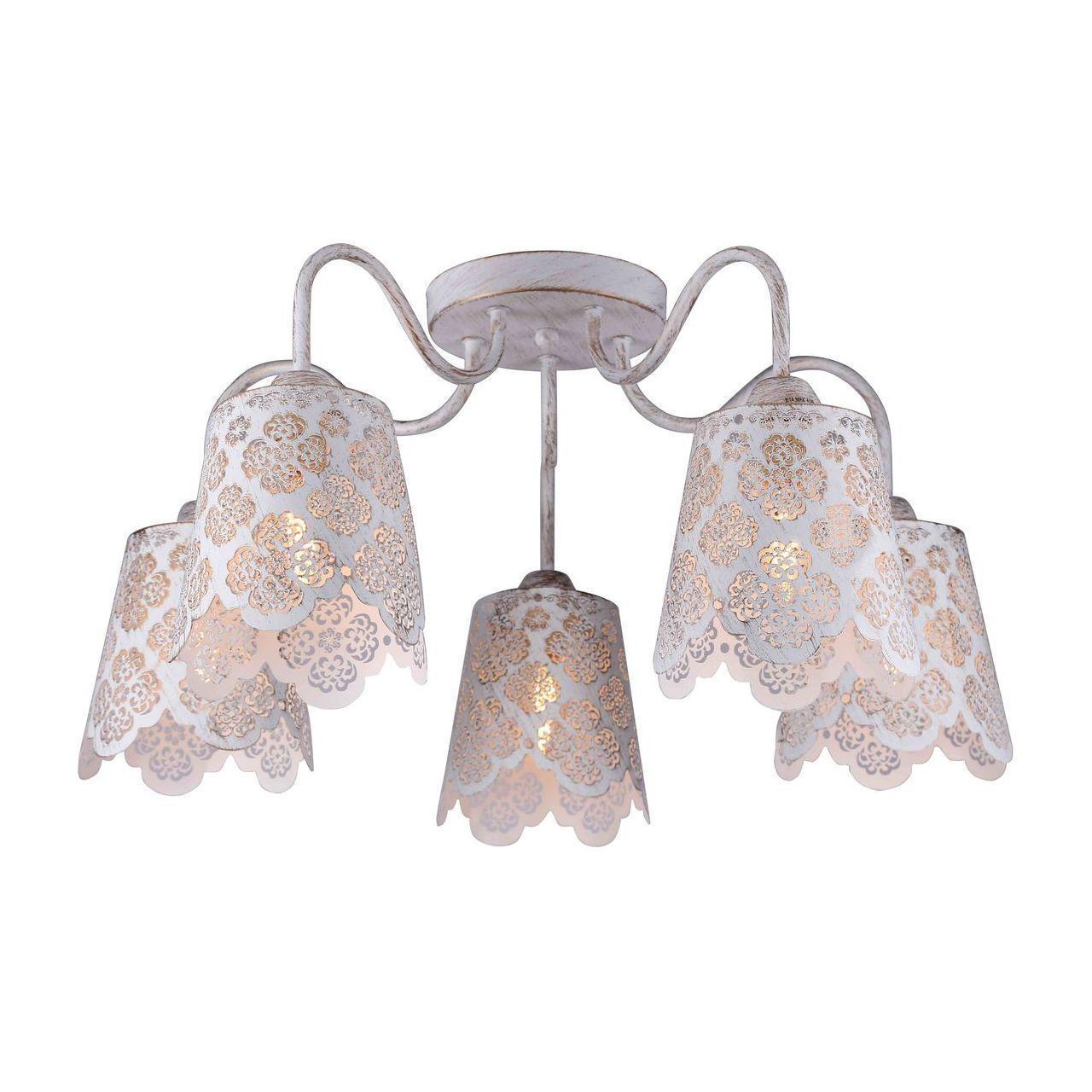 купить Люстра Arte Lamp A2032PL-5WG потолочная по цене 8960 рублей