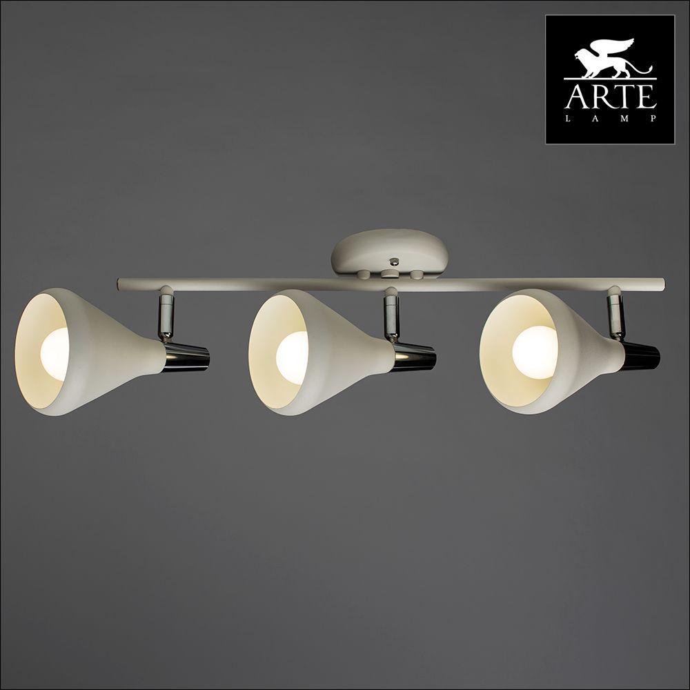Спот Arte Lamp 73 A9154PL-3WH накладной светильник arte lamp falcon a5633pl 3wh
