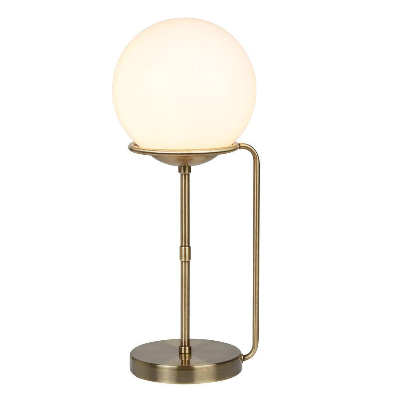 Настольная лампа Arte Lamp Bergamo A2990LT-1AB настольная лампа декоративная arte lamp bergamo a2990lt 1cc