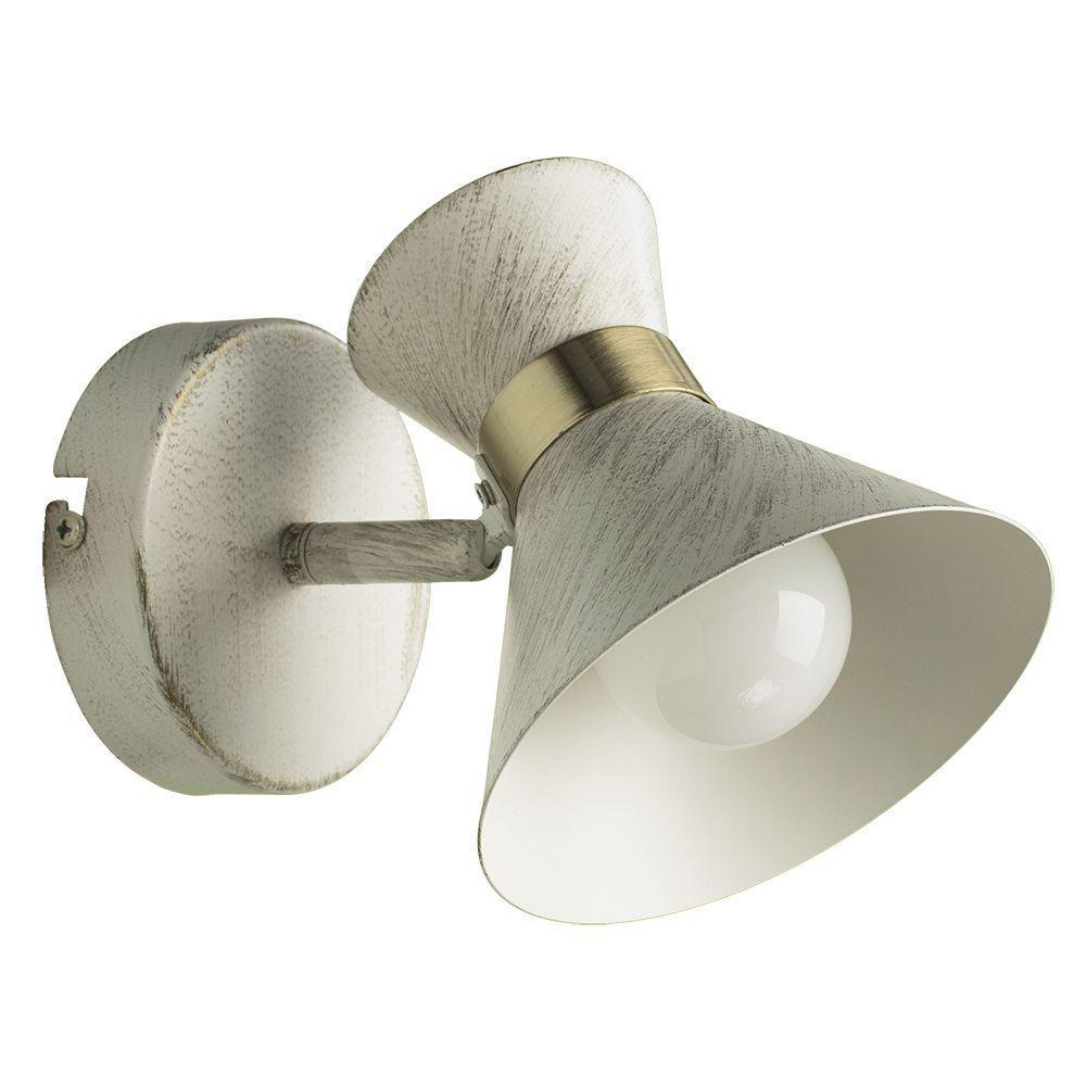 Спот Arte Lamp Baltimore A1406AP-1WG светильник настенный arte lamp baltimore a1406ap 1bk