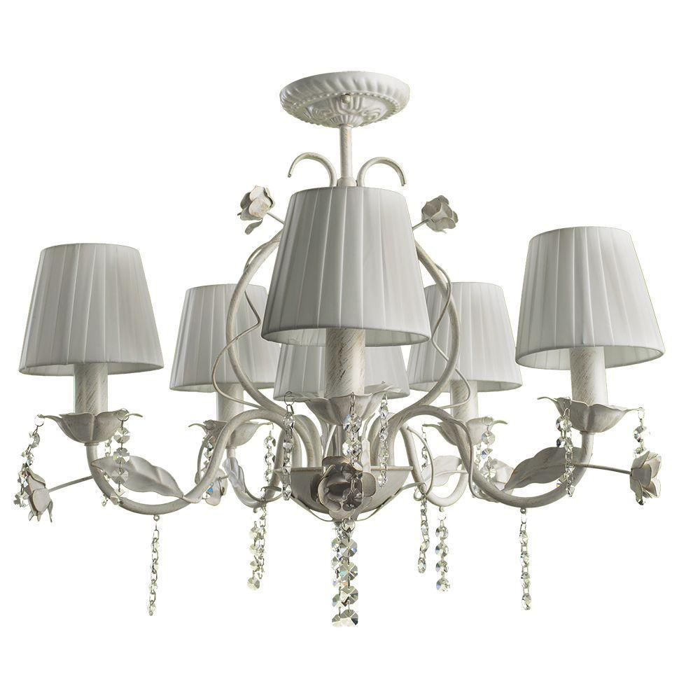 Люстра Arte Lamp Kenny A9514PL-5-1WG потолочная все цены