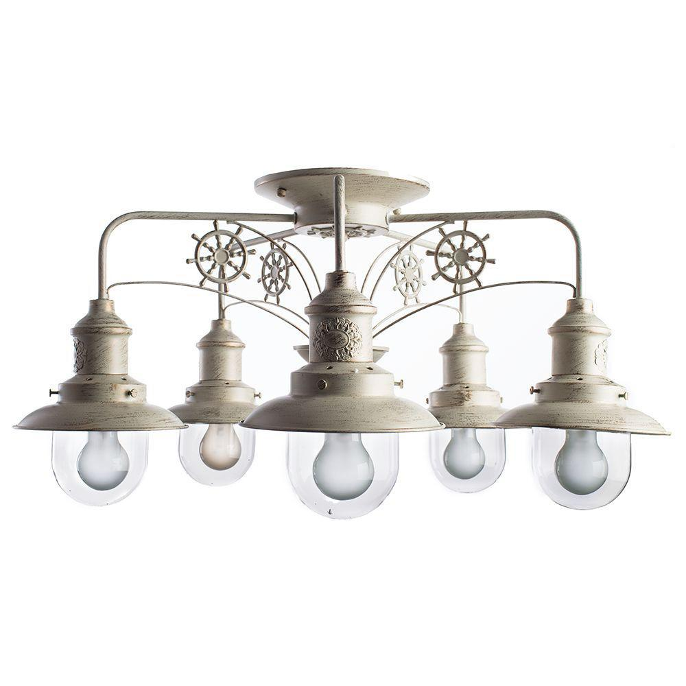 Люстра Arte Lamp Sailor A4524PL-5WG потолочная