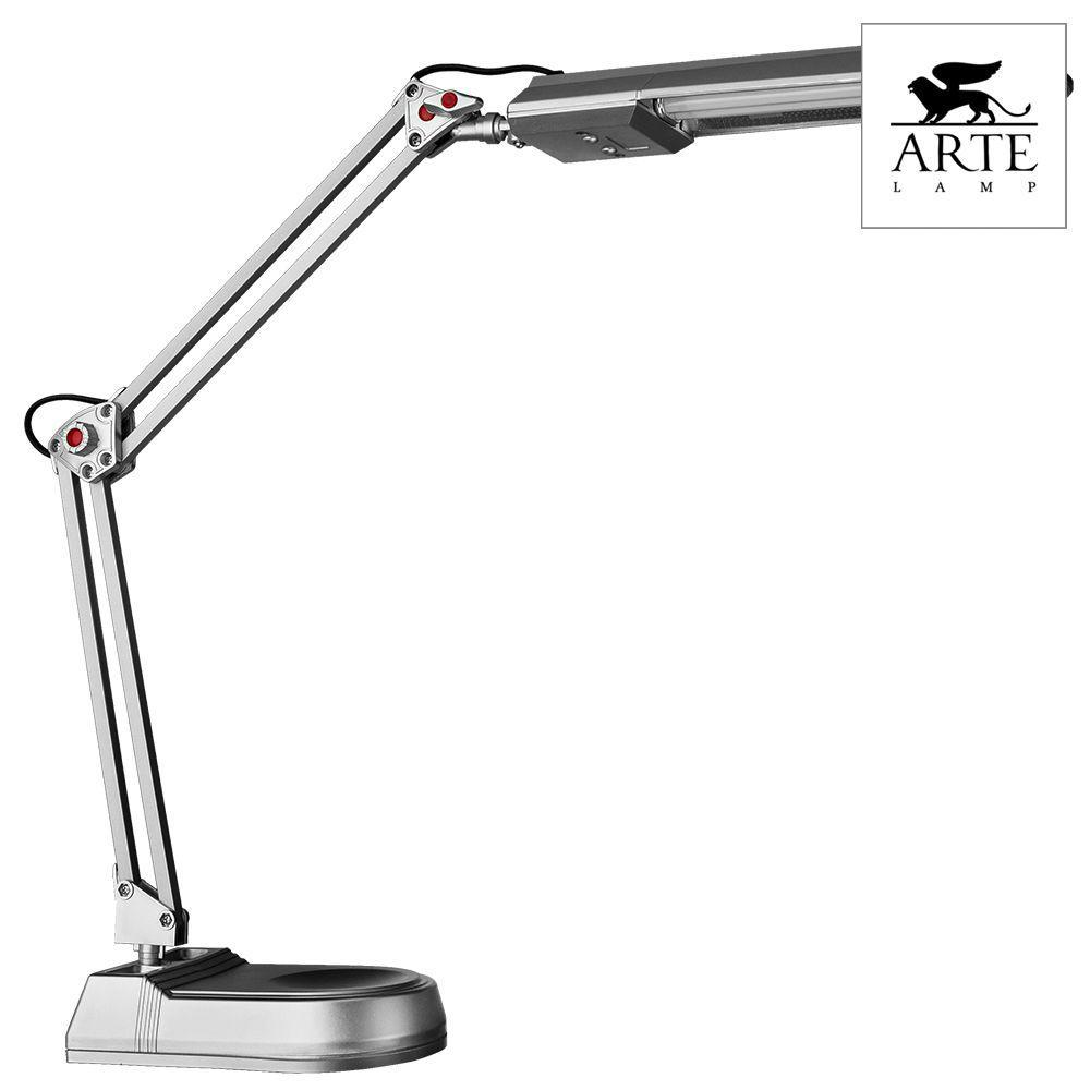 Настольная лампа Arte Lamp Desk A5810LT-1SI led desk lamp led touch dimmer desk lamp usb rechargeable student study reading lamp foldable with calendar