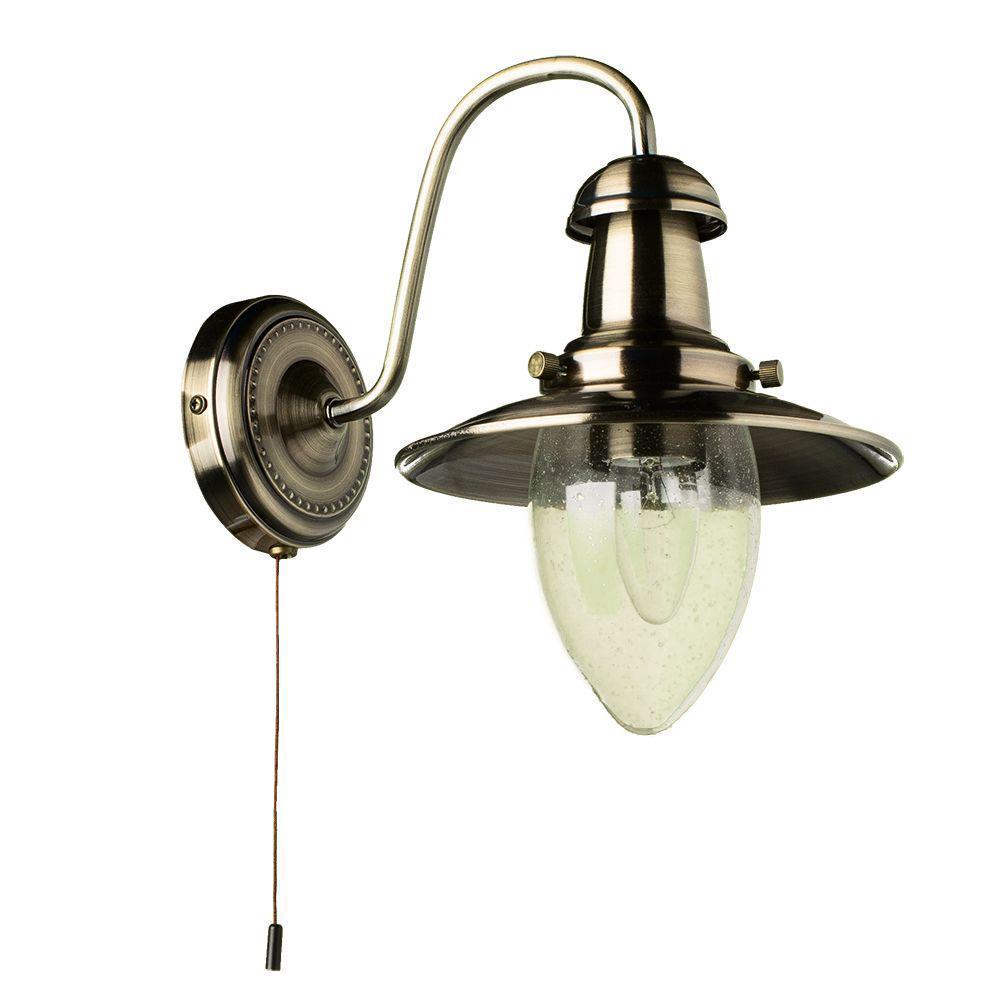 Бра Arte Lamp Fisherman A5518AP-1AB arte lamp fisherman a5540sp 1ab