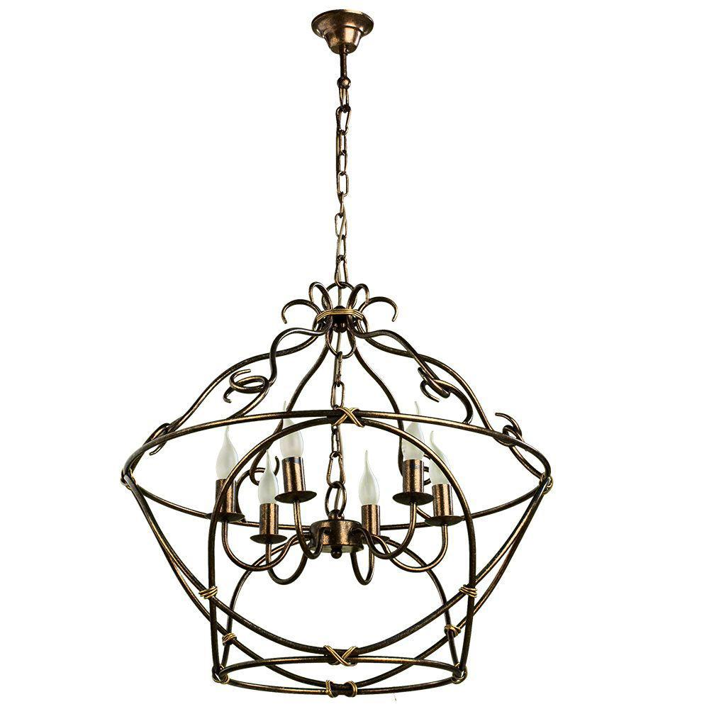 Люстра Arte Lamp Bellator A8960SP-6GA подвесная arte lamp подвесная люстра arte lamp bellator a8960sp 3ga