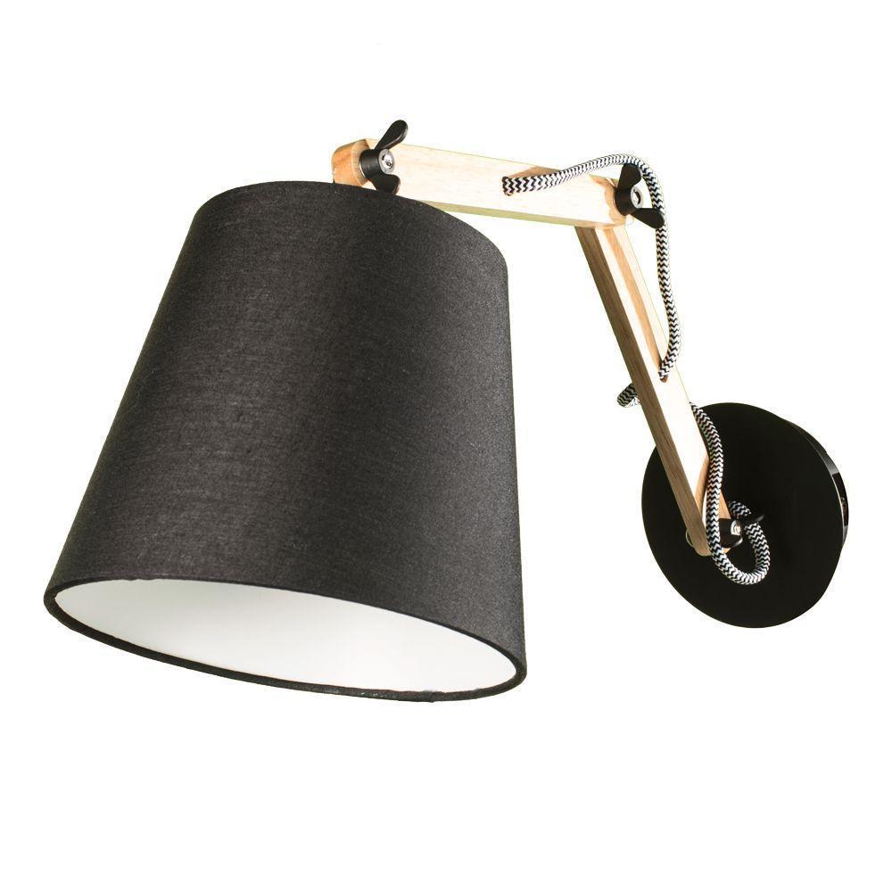 Спот Arte Lamp Pinoccio A5700AP-1BK спот arte lamp pinoccio a5700ap 1bk