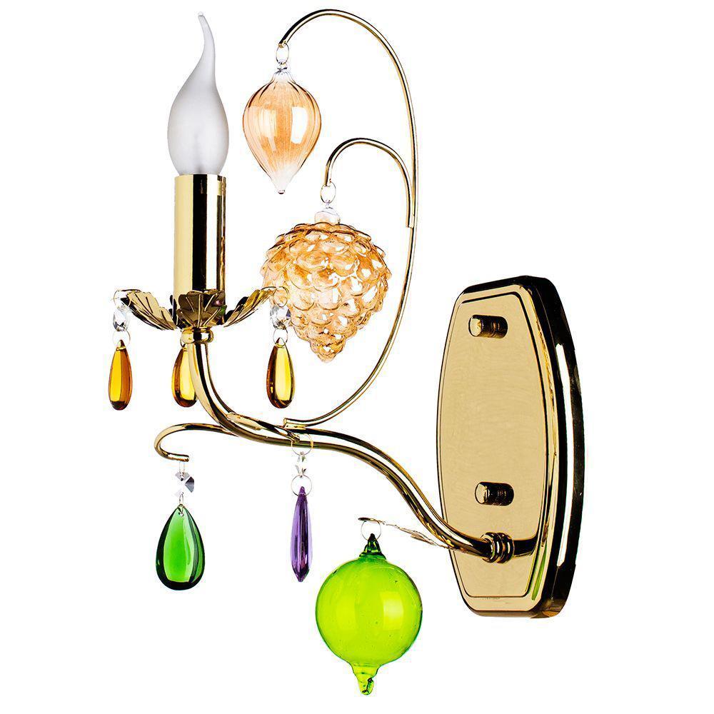 Бра Arte Lamp Ricchezza A2011AP-1GO arte lamp vabrant a6412sp 1go