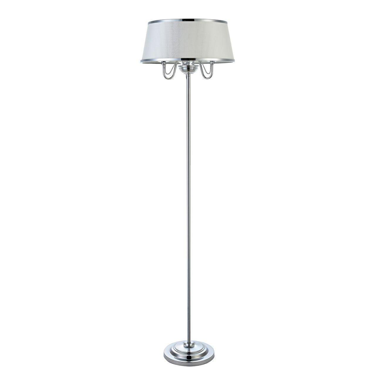 Торшер Arte Lamp Dante A1150PN-3CC настольная лампа arte lamp dante a1150lt 3cc