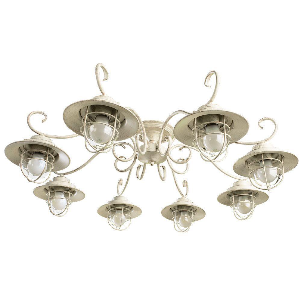 Люстра Arte Lamp 6 A4579PL-8WG потолочная arte lamp lanterna a4579pl 8wg