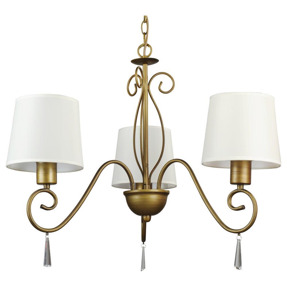 Люстра Arte Lamp Carolina A9239LM-3BR подвесная люстра на штанге arte lamp aroma a6582pl 3br