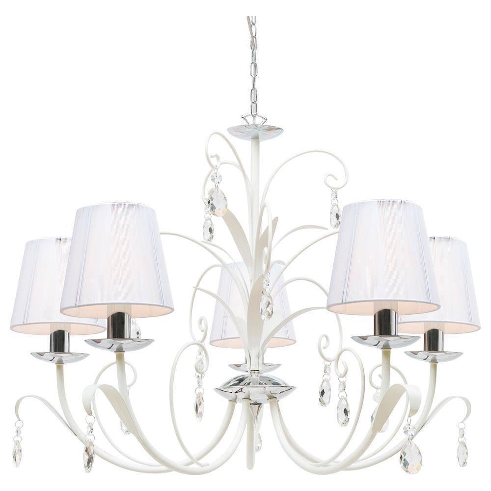 Люстра Arte Lamp Romana Snow A1743LM-5WH подвесная arte lamp a1743lm 5wh
