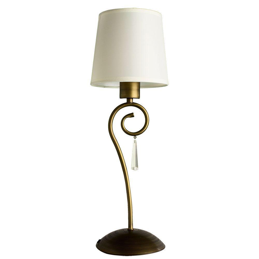 Настольная лампа Arte Lamp Carolina A9239LT-1BR настольная лампа декоративная arte lamp carolina a9239lt 1br