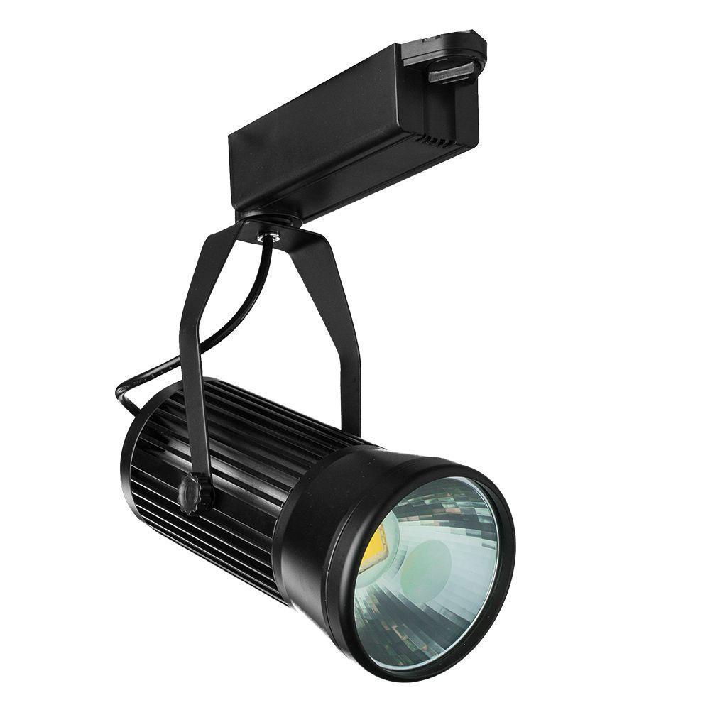 Трековый светильник Arte Lamp Track Lights A6330PL-1BK светильник спот трековый artelamp track lights a6330pl 1wh