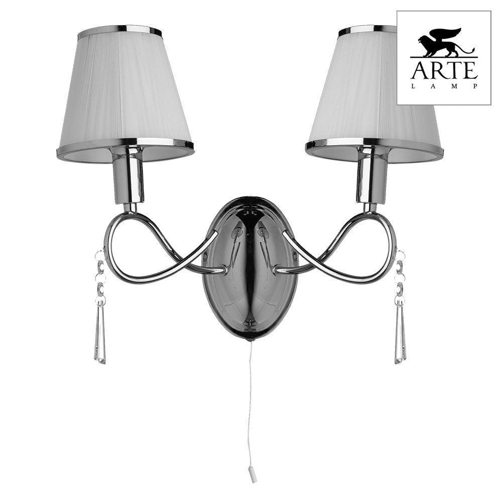 Бра Arte Lamp Logico A1035AP-2CC бра arte lamp logico a1035ap 2ab