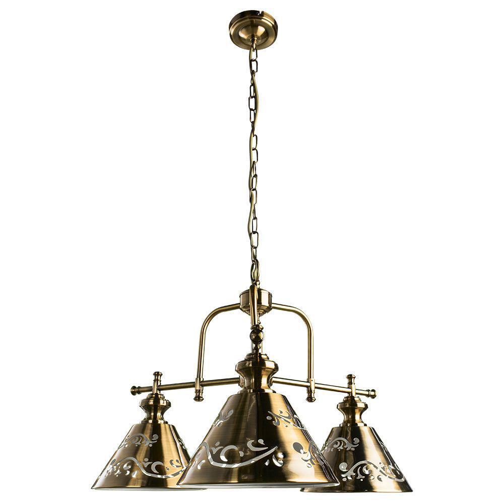 Подвесная люстра Arte Lamp Kensington A1511LM-3PB arte lamp kensington a1511lm 3pb