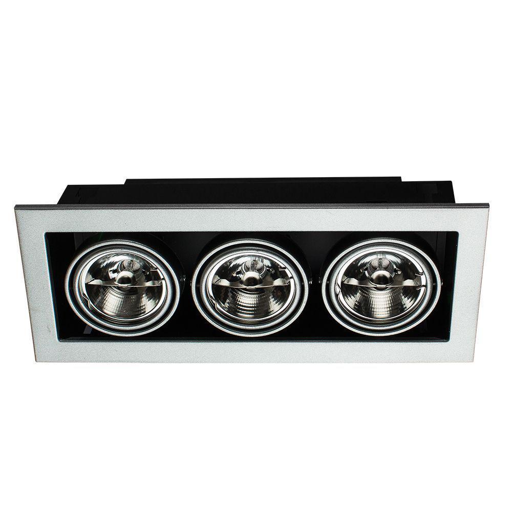 Встраиваемый светильник Arte Lamp Technika A5930PL-3SI цена