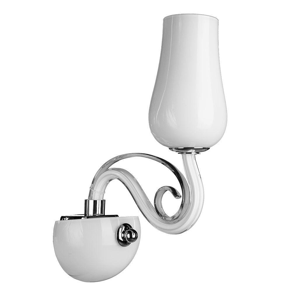 Бра Arte Lamp Biancaneve A8110AP-1WH arte lamp бра arte lamp biancaneve a8110ap 1wh