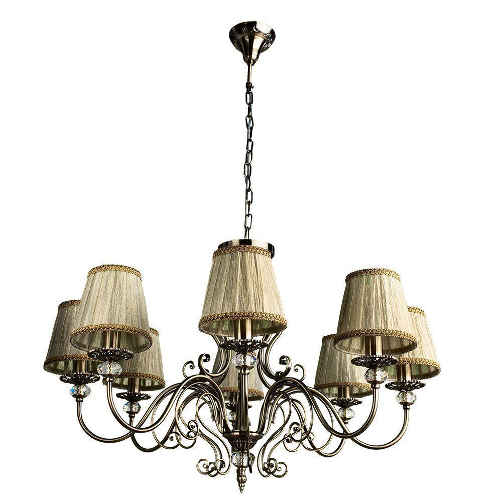 Люстра Arte Lamp Charm A2083LM-8AB подвесная arte lamp подвесная люстра arte lamp charm a2083lm 8ab