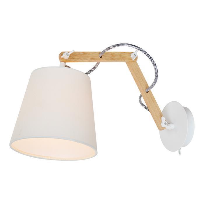 Спот Arte Lamp Pinoccio A5700AP-1WH спот arte lamp pinoccio a5700ap 1bk