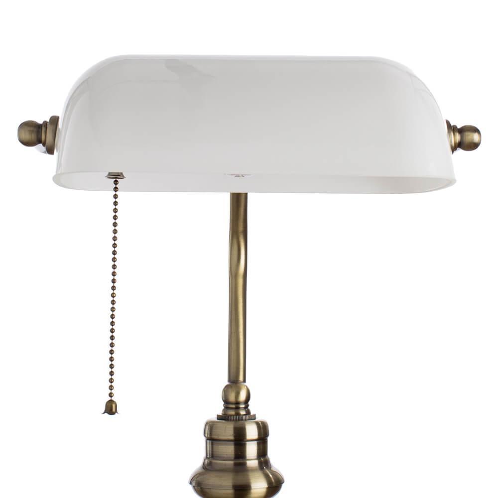 Настольная лампа Arte Lamp Banker A2493LT-1AB