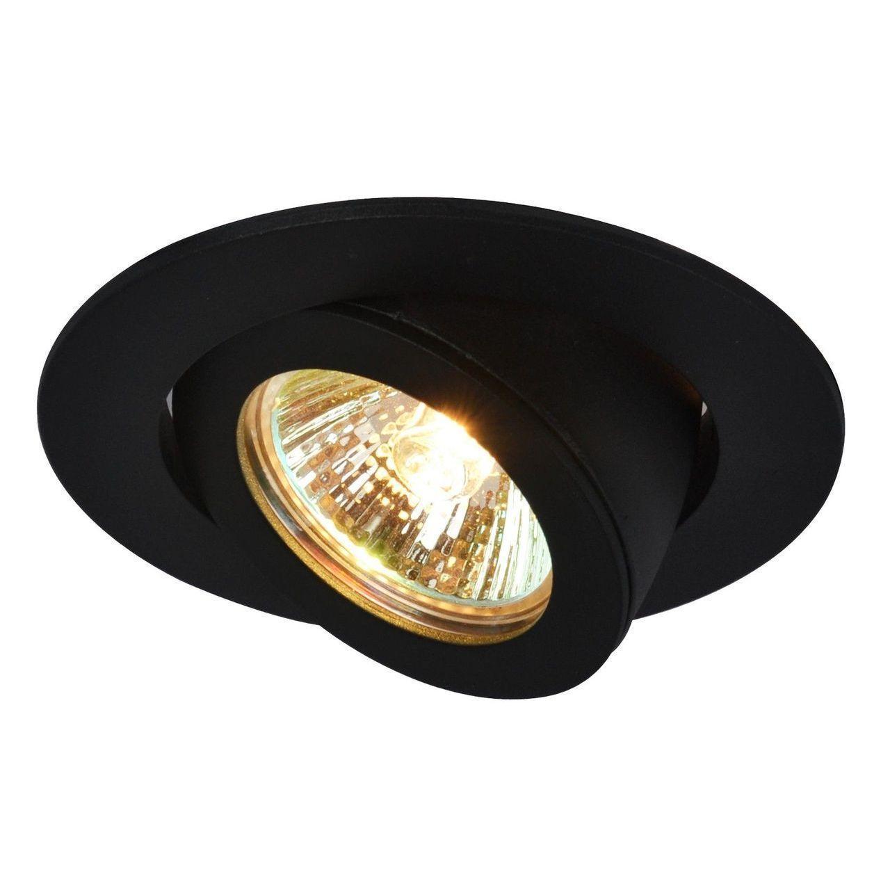 Встраиваемый светильник Arte Lamp Accento A4009PL-1BK встраиваемый светильник arte lamp accento a4009pl 1wh