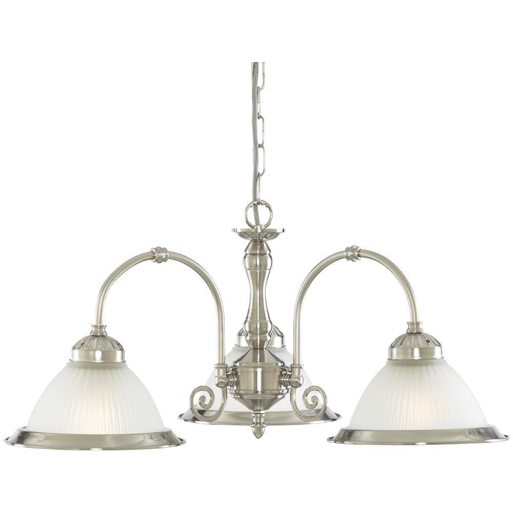 Подвесная люстра Arte Lamp American Diner A9366LM-3SS подвесная люстра arte lamp american diner a9366lm 5ab
