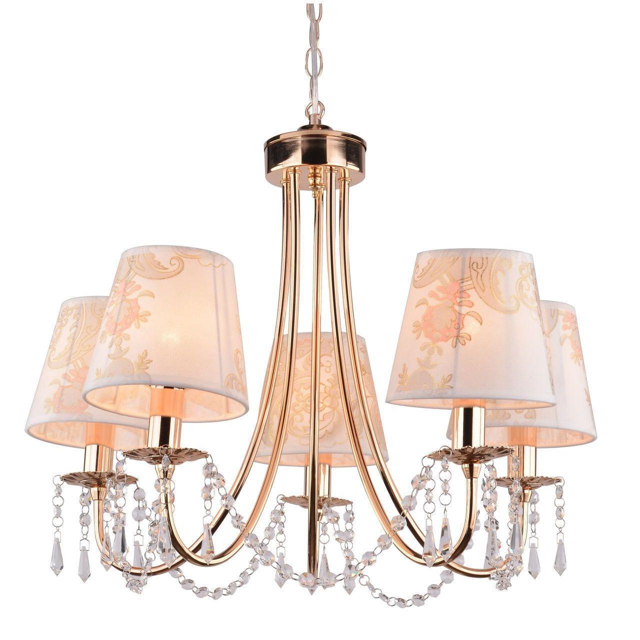 Люстра Arte Lamp Armonico A5008LM-5GO подвесная arte lamp подвесная люстра arte lamp armonico a5008lm 5go