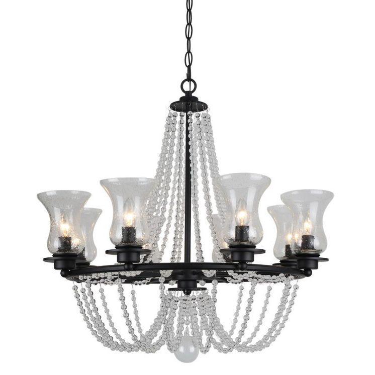 Люстра Arte Lamp 59 A6586LM-8BK подвесная