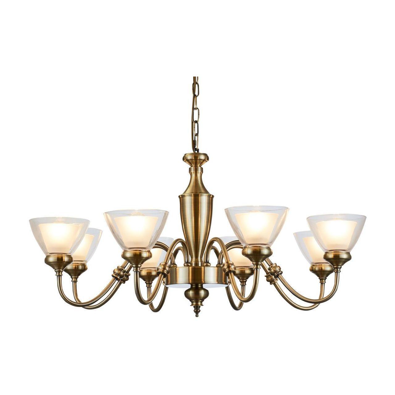 Люстра Arte Lamp A5184LM-8AB подвесная цена
