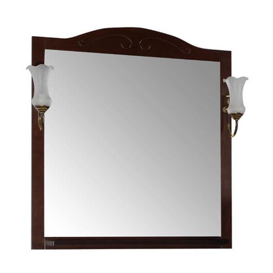 Зеркало АСБ мебель Флоренция 85 Woodline бук тироль