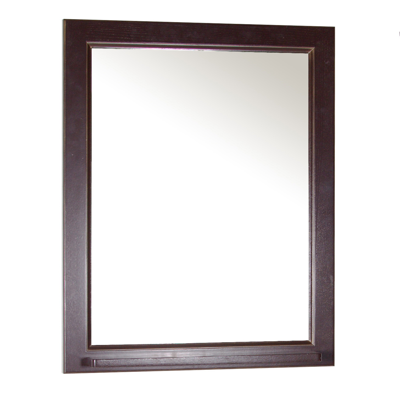 Зеркало АСБ мебель Бергамо 65 Woodline орех/патина золото