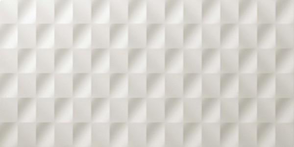 Настенная плитка Atlas Concorde Italy 3D Wall +23691 Mesh White Matt бордюр atlas concorde 3d wall spigolo sand matt 1x20