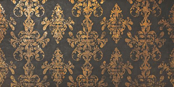 Декор Atlas Concorde Italy Ewall +14351 Moka Gold Damask декор atlas concorde fancy 4389 cherry damask pale