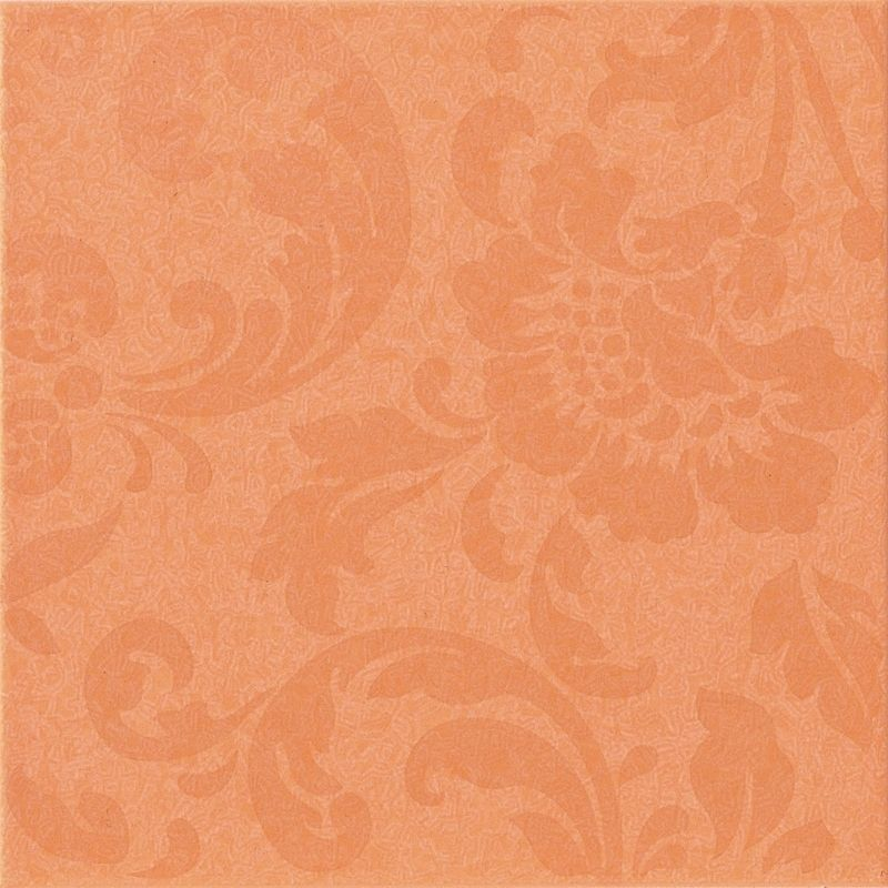 Декор Atlas Concorde Italy Fancy +4397 Orange Damask Pale декор atlas concorde fancy 4389 cherry damask pale