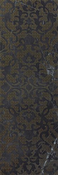 Декор Atlas Concorde Italy Marvel Pro +17357 Noir S.Laurent Brocade 30,5х91,5 brocade vintage lace up corset