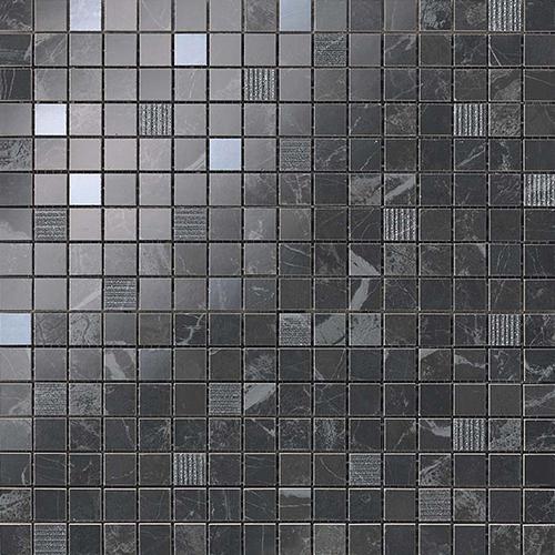 Мозаика Atlas Concorde Italy Marvel Pro +17360 Noir S.Laurent Mosaic 30,5х30,5 мозаичный декор atlas concorde marvel pro noir mix diagonal mosaic 30 5x30 5