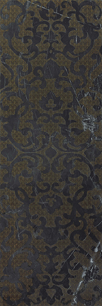 Декор Atlas Concorde Marvel Pro +17357 Noir S.Laurent Brocade brocade vintage lace up corset
