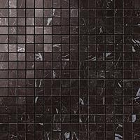 Мозаика Atlas Concorde Marvel Stone Porcelain +23623 Nero Marquina Mosaico Lapp. напольная плитка atlas concorde marvel pro noir st laurent mosaico lapp 30x30