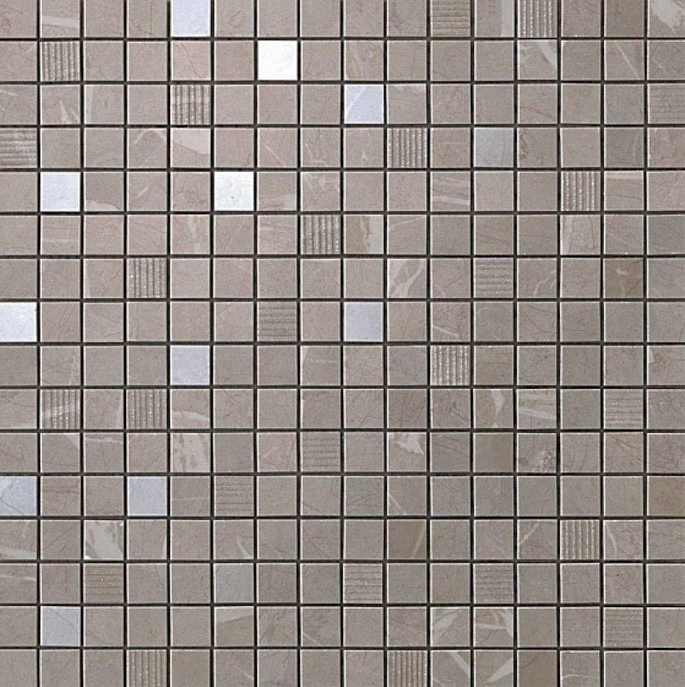Мозаика Atlas Concorde Marvel +16793 Silver Dream Mosaic бордюр atlas concorde admiration crema marfil spigolo 1x20