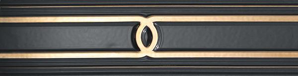 Бордюр Atlas Concorde Marvel Pro +17358 Gold Black бордюр atlas concorde admiration crema marfil spigolo 1x20