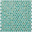 Мозаика Atlas Concorde DWELL +21383 Turquoise Hexagon Gold бордюр atlas concorde dwell greige spigolo 1x20
