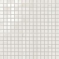 Мозаика Atlas Concorde Marvel Stone Porcelain +23622 Bianco Dolomite Mosaico Lapp. бордюр atlas concorde admiration crema marfil spigolo 1x20