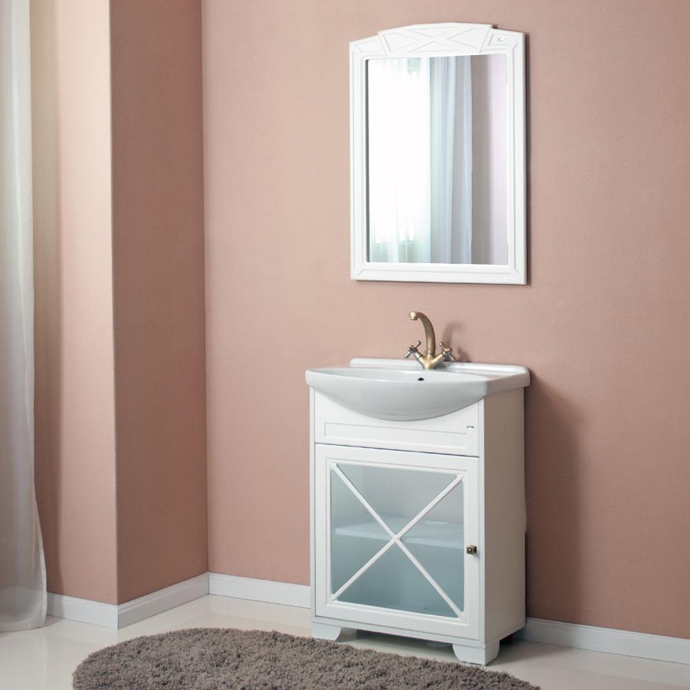 Мебель для ванной Атолл Палермо 265 витрина недорго, оригинальная цена